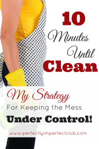 A Mom of 9's strategy for keeping the house from looking like a tornado blew through! |housekeeping|homemaking|cleaning|organizing