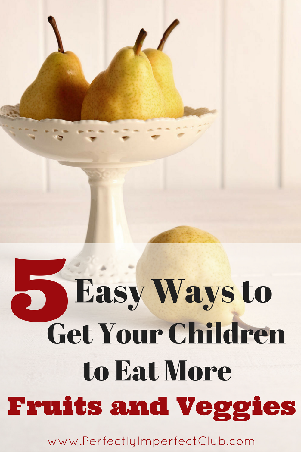 My children barely ate any fruits and veggies until this changed. Now, they eat more than the recommended amount every single day!