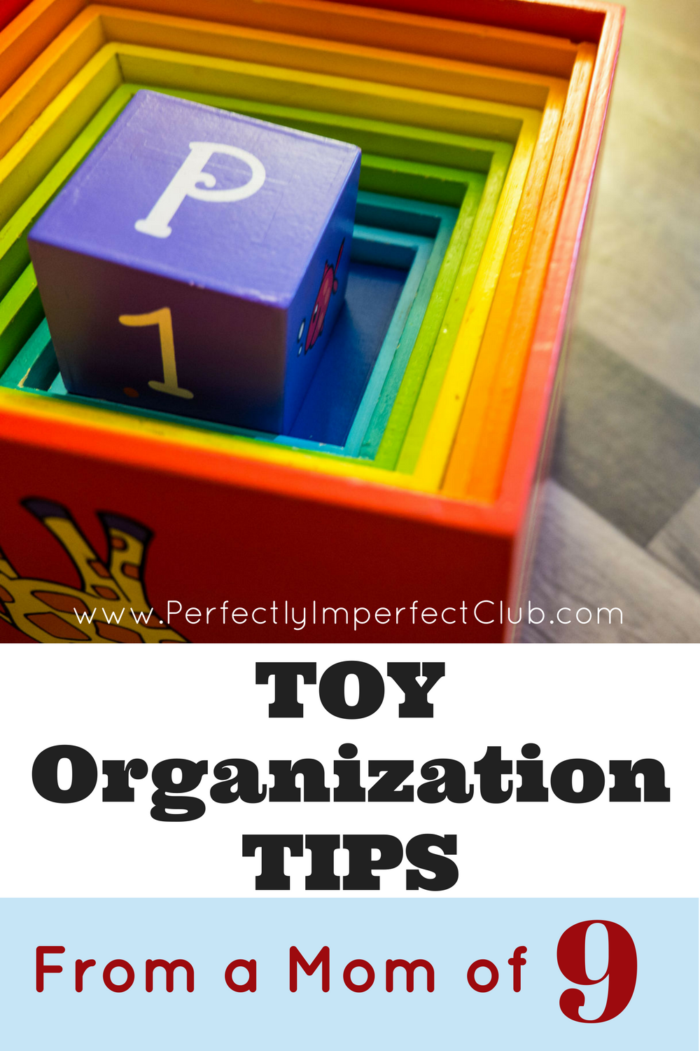 Toy Organization Ideas from a Mom of 9!