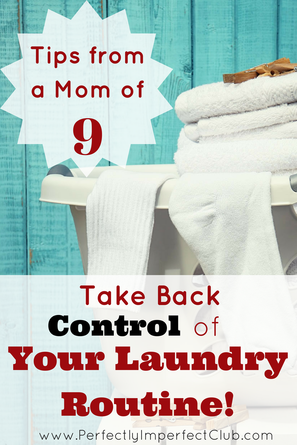 Laundry Routine Ideas from a Mom of 9!