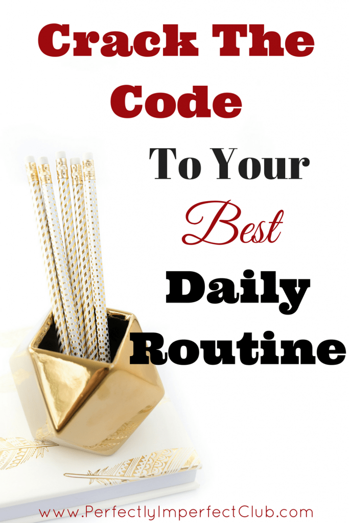 Creating a Daily Routine Daily Routine for Mom Time Management
