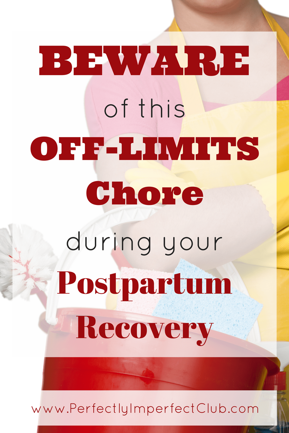 It's so tempting to jump right back into normal life after your baby is born! There is one chore though that you may want to wait a little longer for though...|postpartum recovery|postpartum