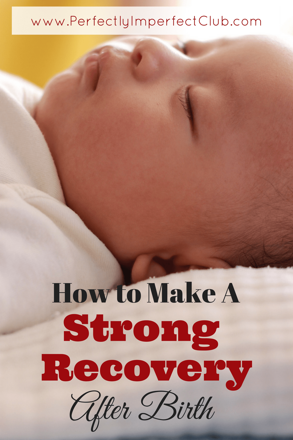 Tips from a mother of nine on how to make a strong recovery after birth.Doing these things postpartum makes all the difference in how your body bounces back.|Healing After Birth|Postpartum|Large Family Mom