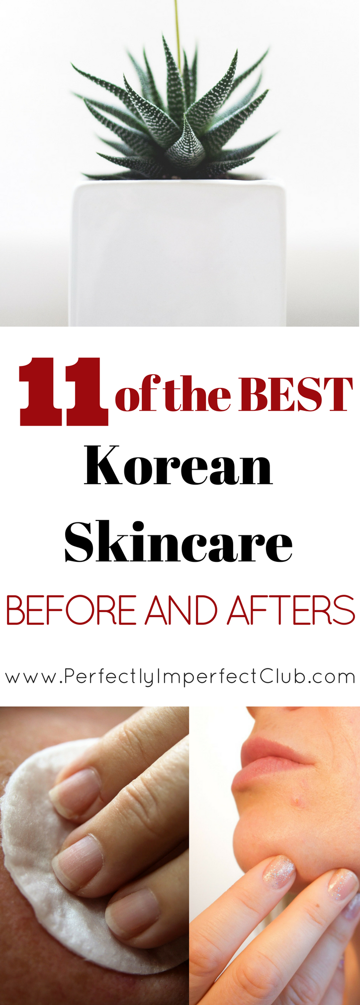 Ever wondered exactly what a Korean skincare routine can do for your skin? Here's 11 of the best Korean skincare before and afters.
