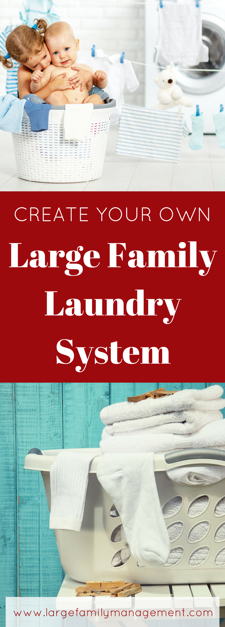 large family laundry system