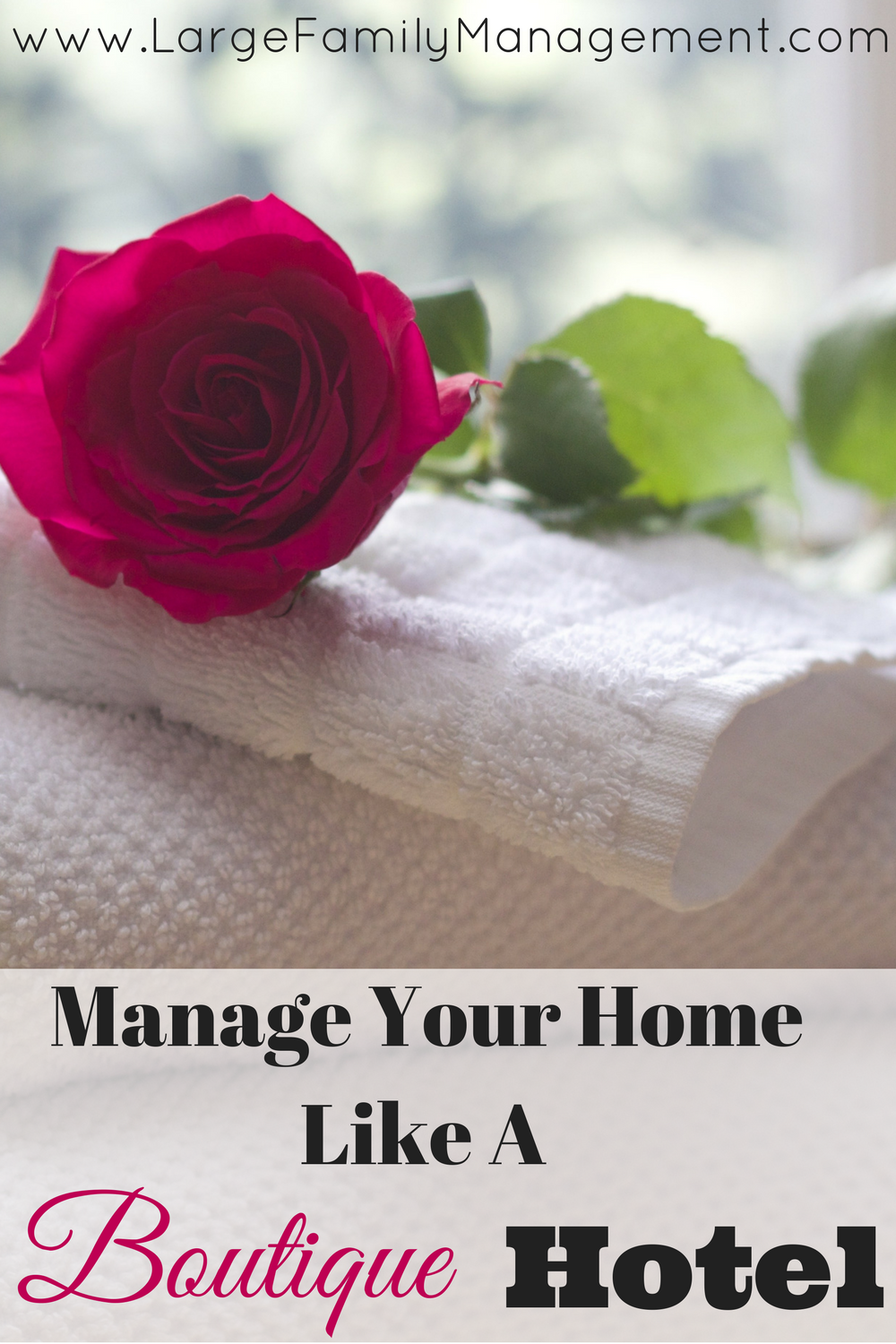 Large Family Home Management Tips from a mother of 9!