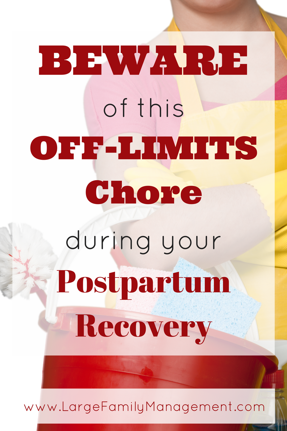 Mother of nine talks about an important chore to avoid during the first weeks of postpartum recovery|large family pregnancy|large family postpartum